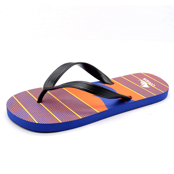 b13b59ae63e6 Wholesale Fashion PVC Man Slippers Beach Flip Flops AH-8P018 -Ories ...