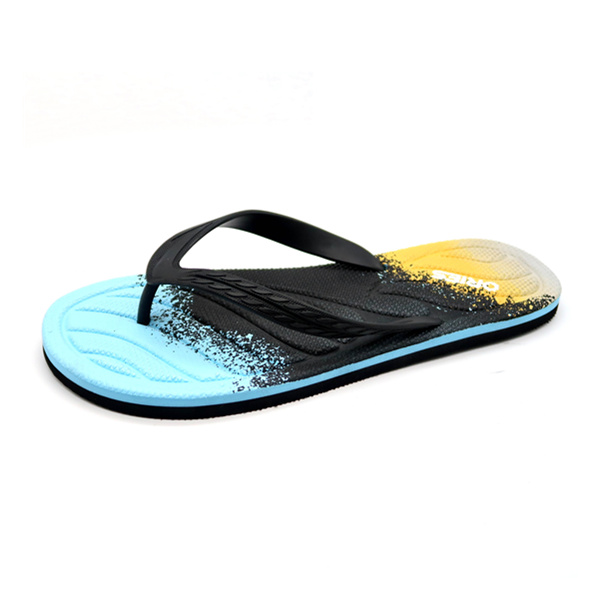 Simple Chic Style Mixed Color Man Flip Flop Slippers Ah -8662